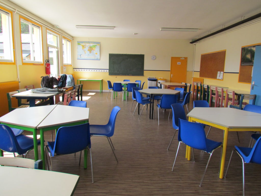 Maison du Golfe, salle de classe 2